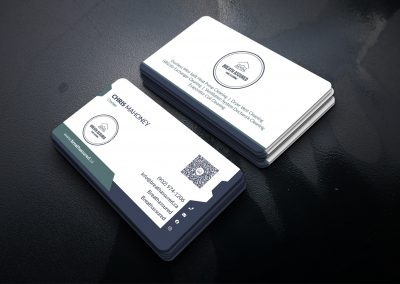 Business Card Design - HVAC Cleaning
