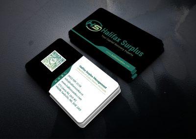 Halifax Surplus_Business_Card Design