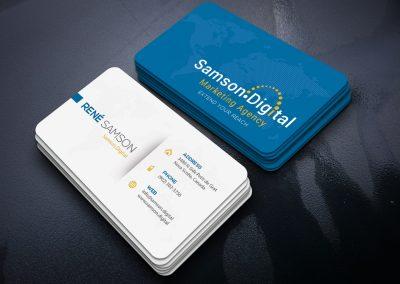 Samson.Digital Business Card Design