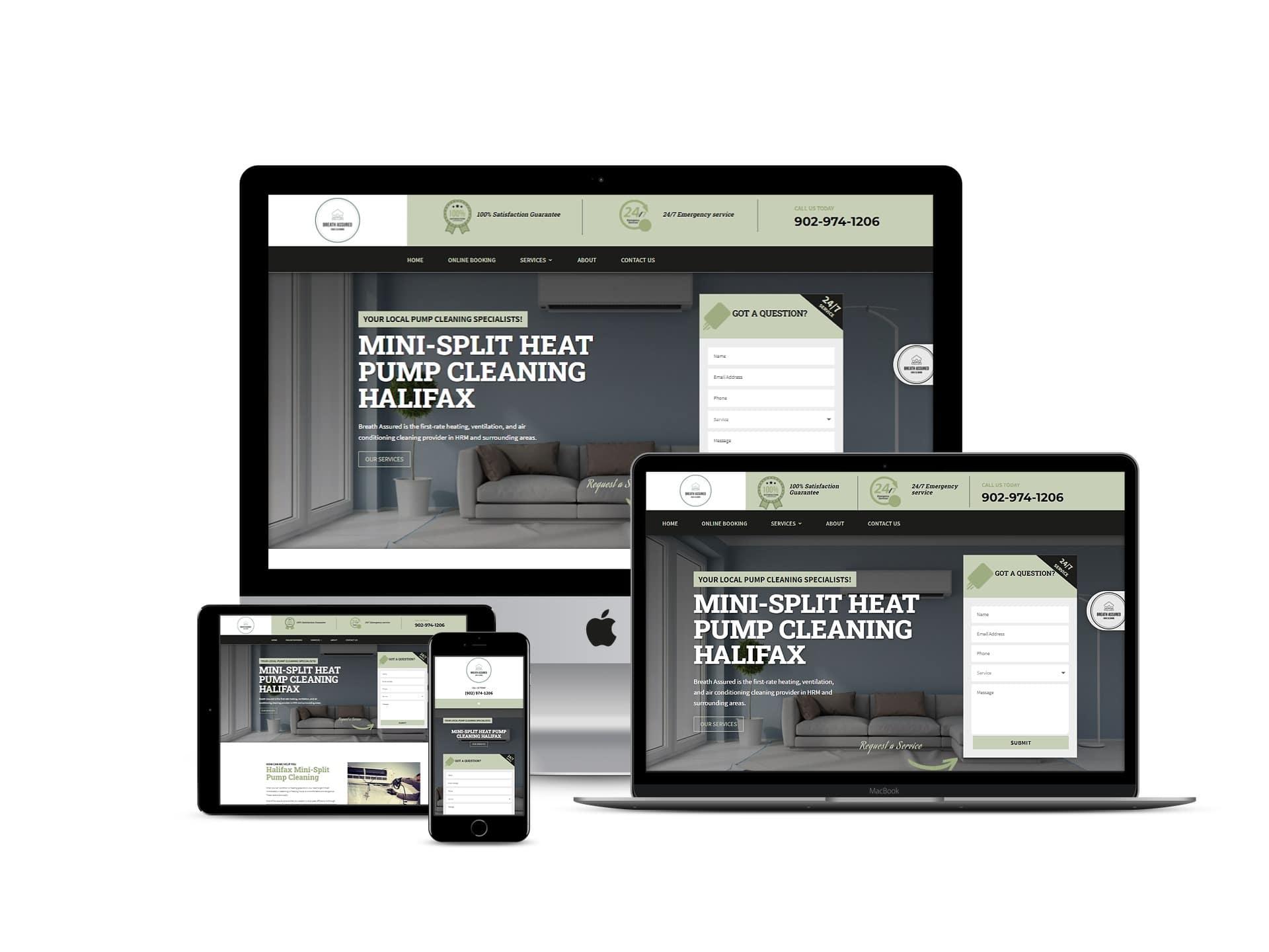 Breath Assured Web Design Project