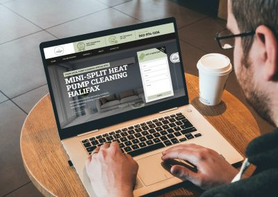 Web Design For HVAC Cleaning Company From Halifax