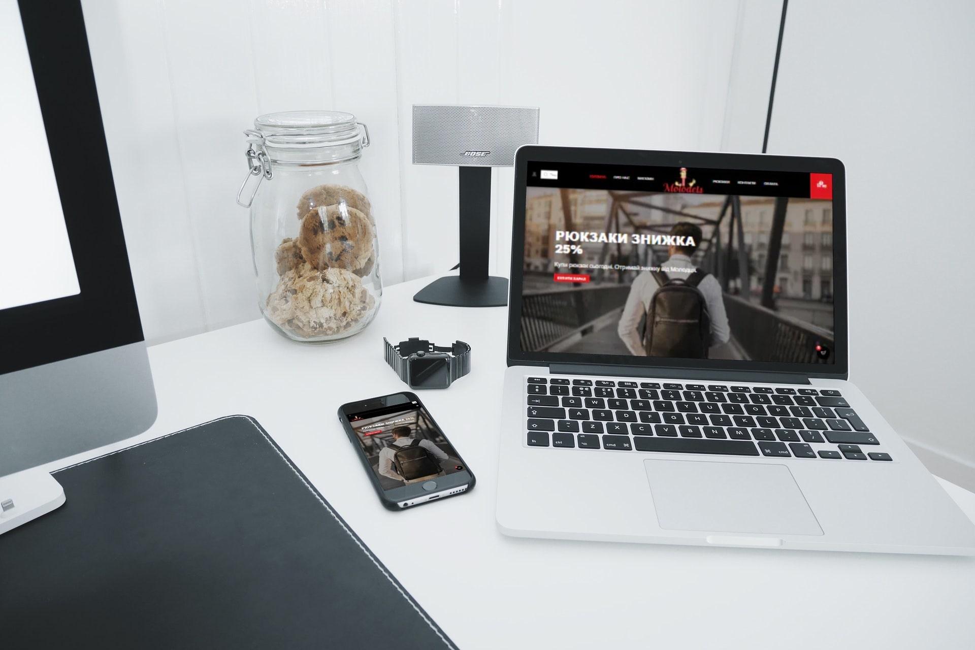 molodets web design project