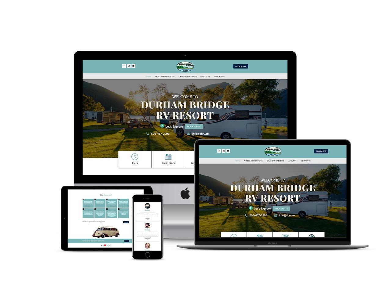 Richmond Marine Web Design Progect